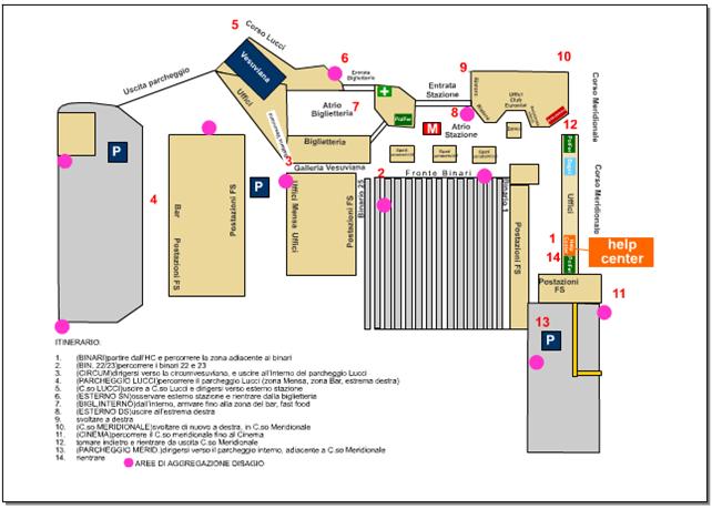 Mappa stazione garibaldi onds citt 224 stazioni 187 napoli - Stazione porta garibaldi mappa ...